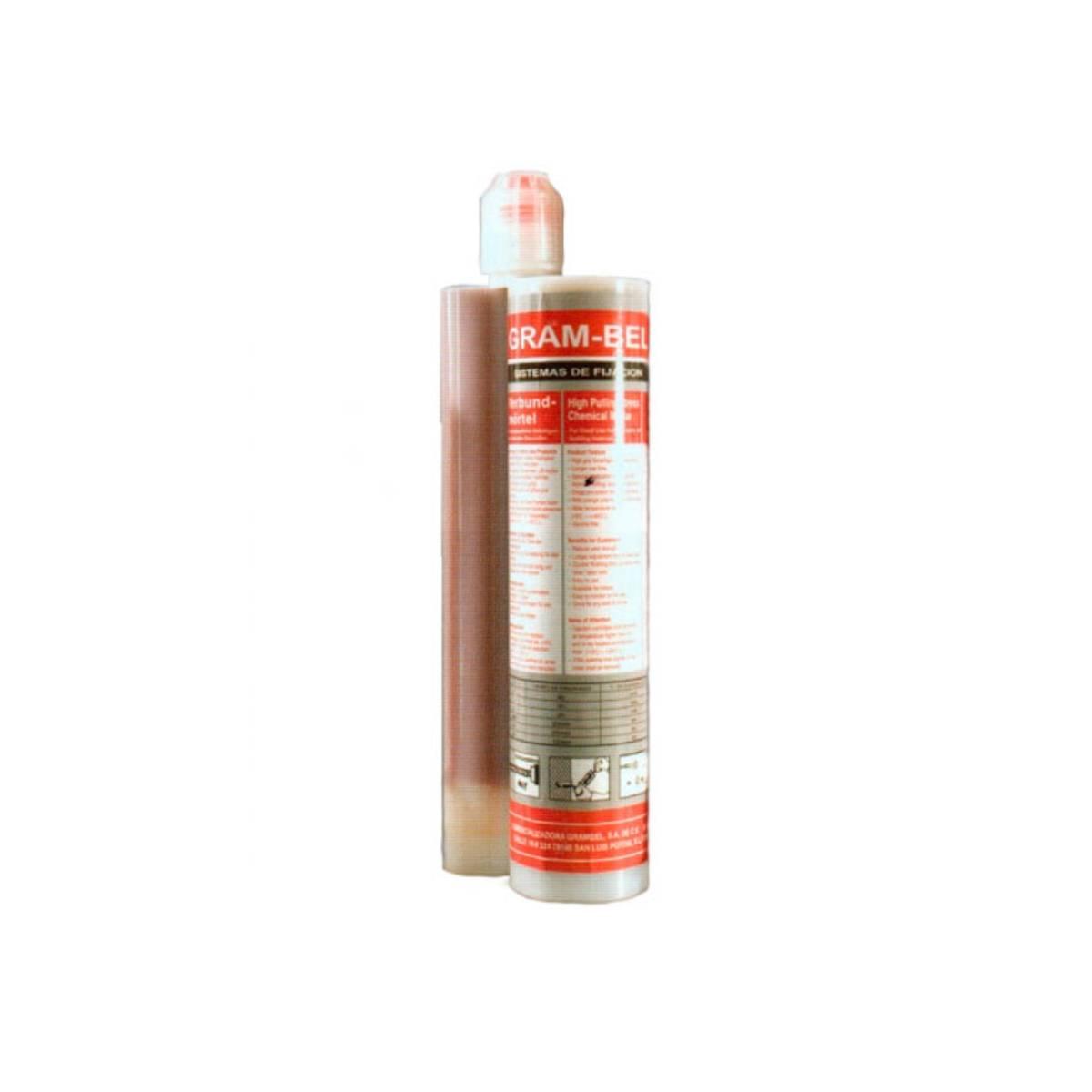 Cartucho De Resina Epoxica 400 Ml De Concreto EPOX1 Gram-Bel