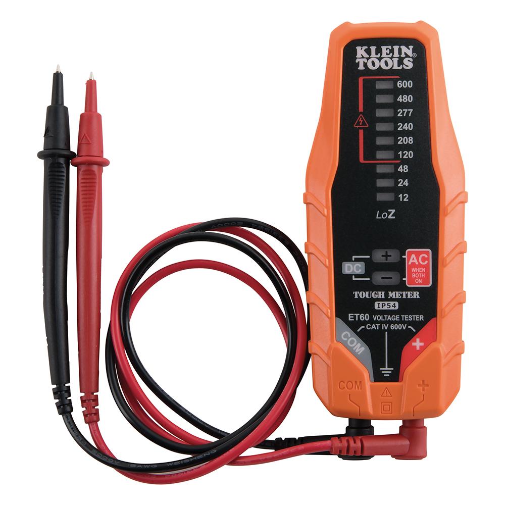 Probador De Voltaje 12-600v Et60 Klein Tools