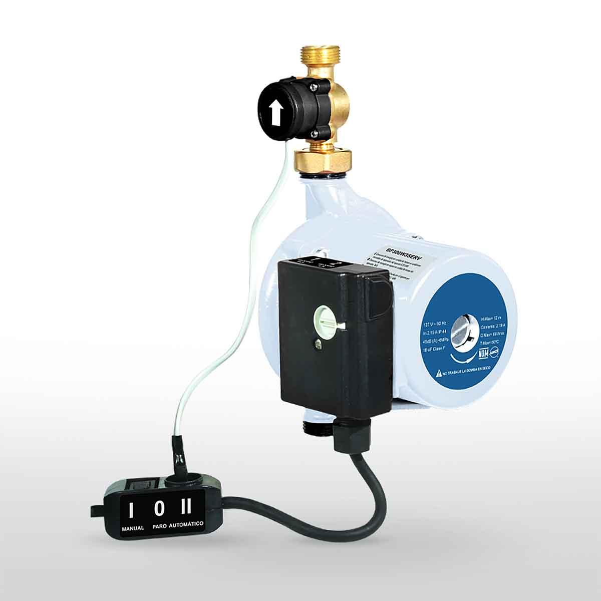 Bomba Presurizadora 225 kW 3 Servicios Para Calentador Bosch