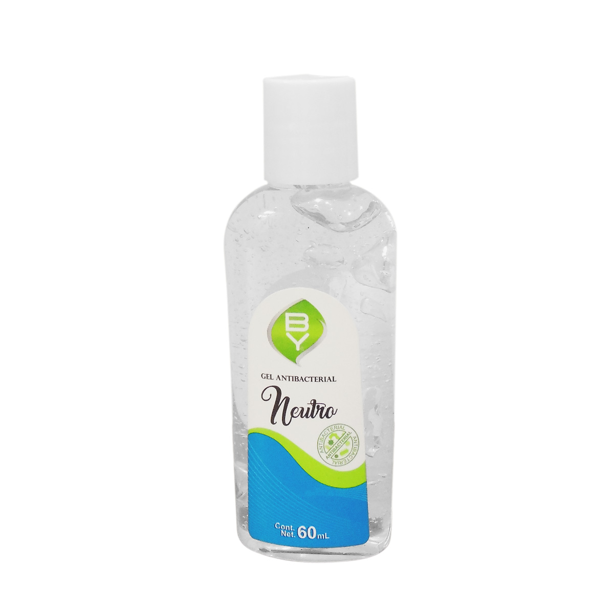 Gel Antibacterial De Manos 60 Ml 70% Alcohol Germen By Pure