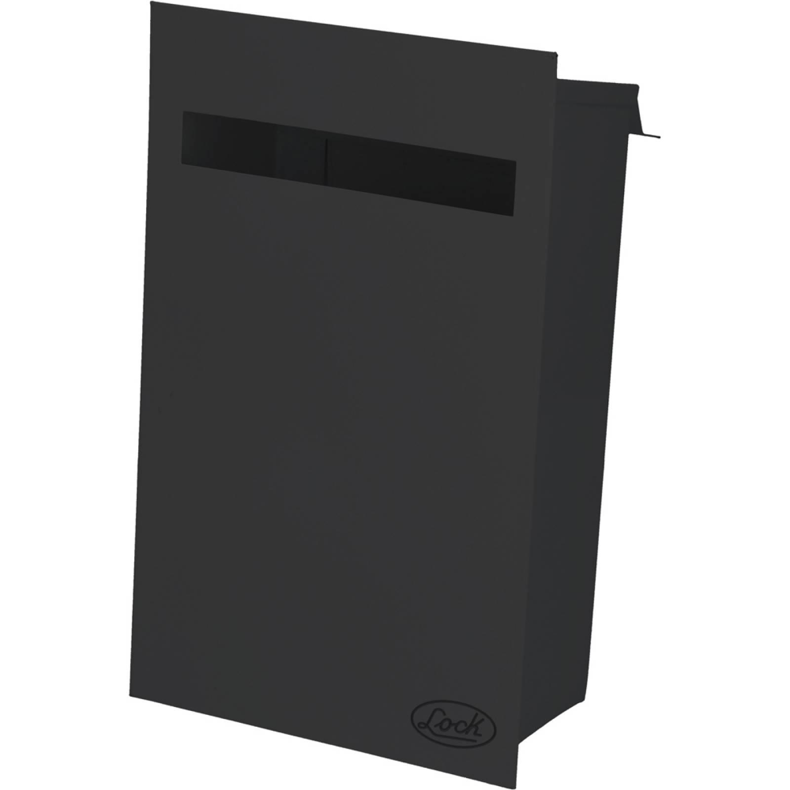 Buzón Negro 21.5X35X10.5Cm 11BZ Lock