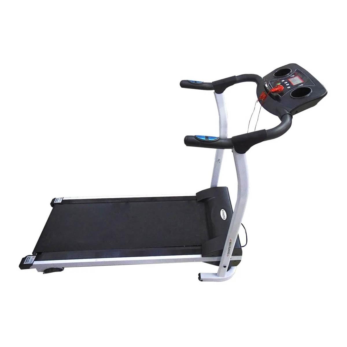 Cinta De Correr Electrica 110v Gris Para Ejercicio Hogar Gym