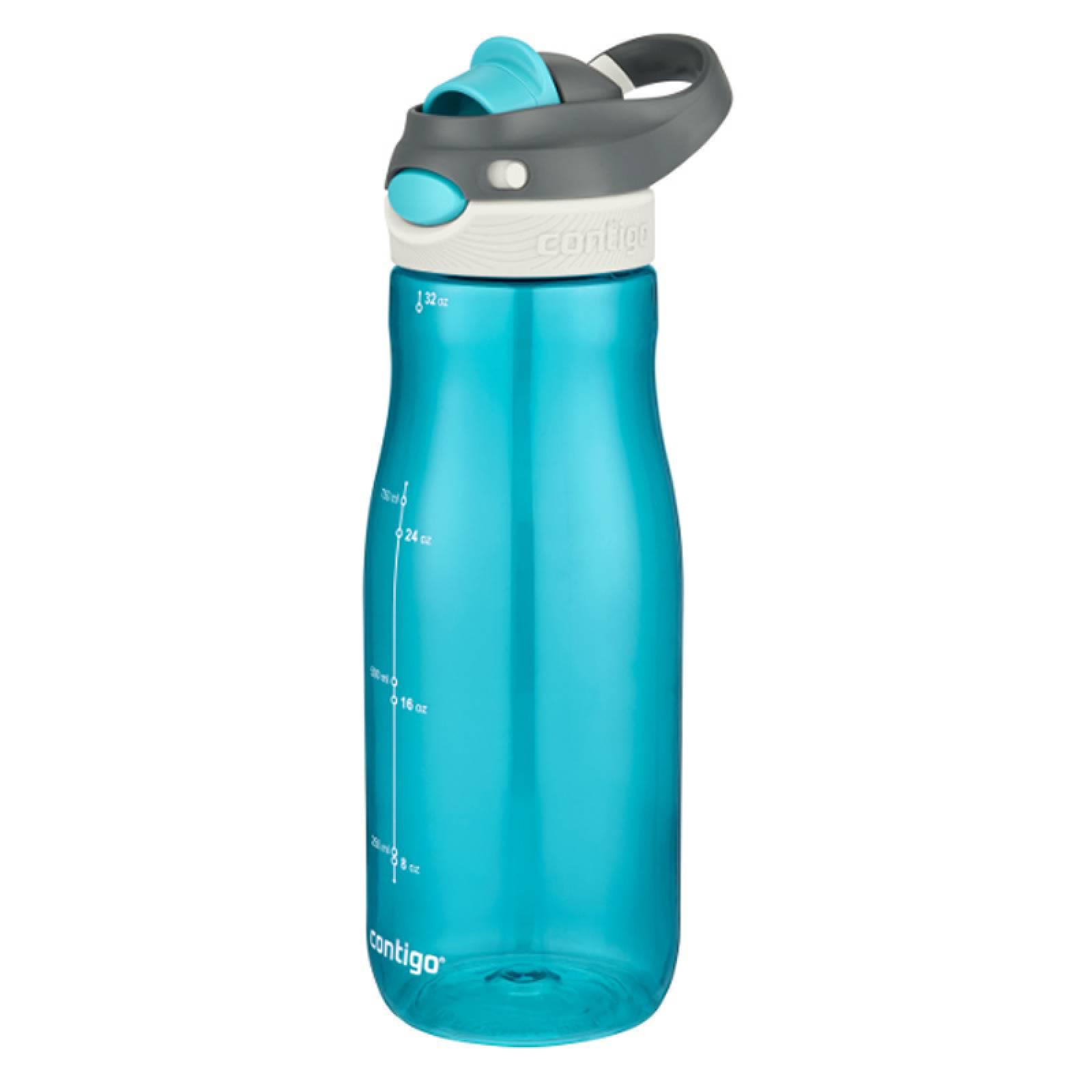 Botella Agua Plastica 32oz Autosput Damen Chug Verde Contigo