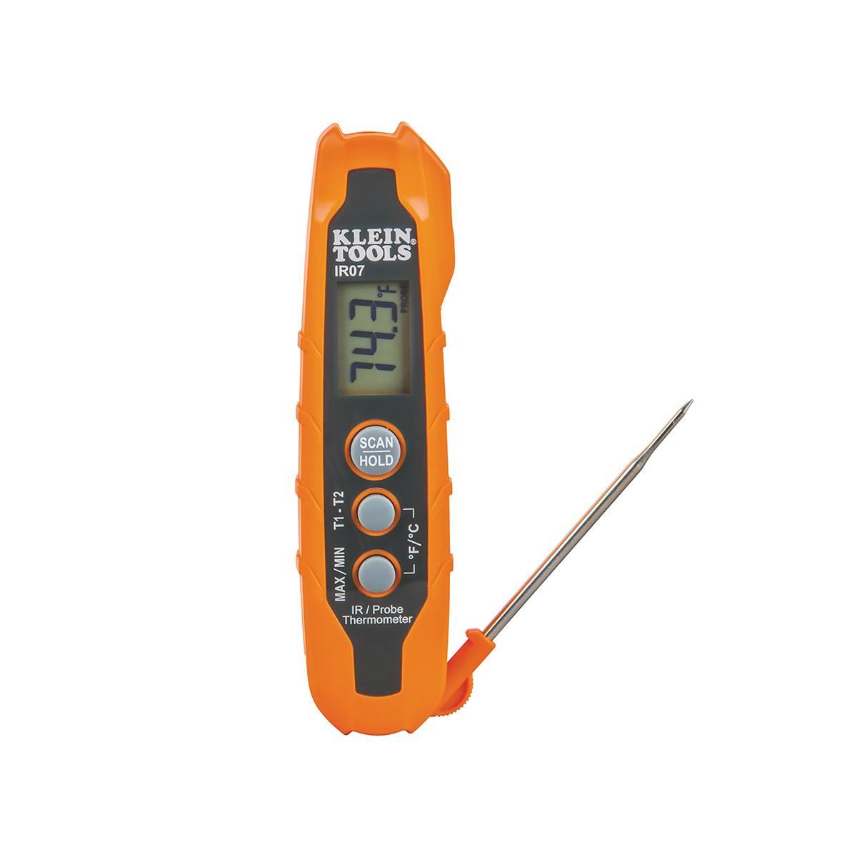 Termometro De Bolsillo Infrarojo Con Sonda IR07 Klein Tools