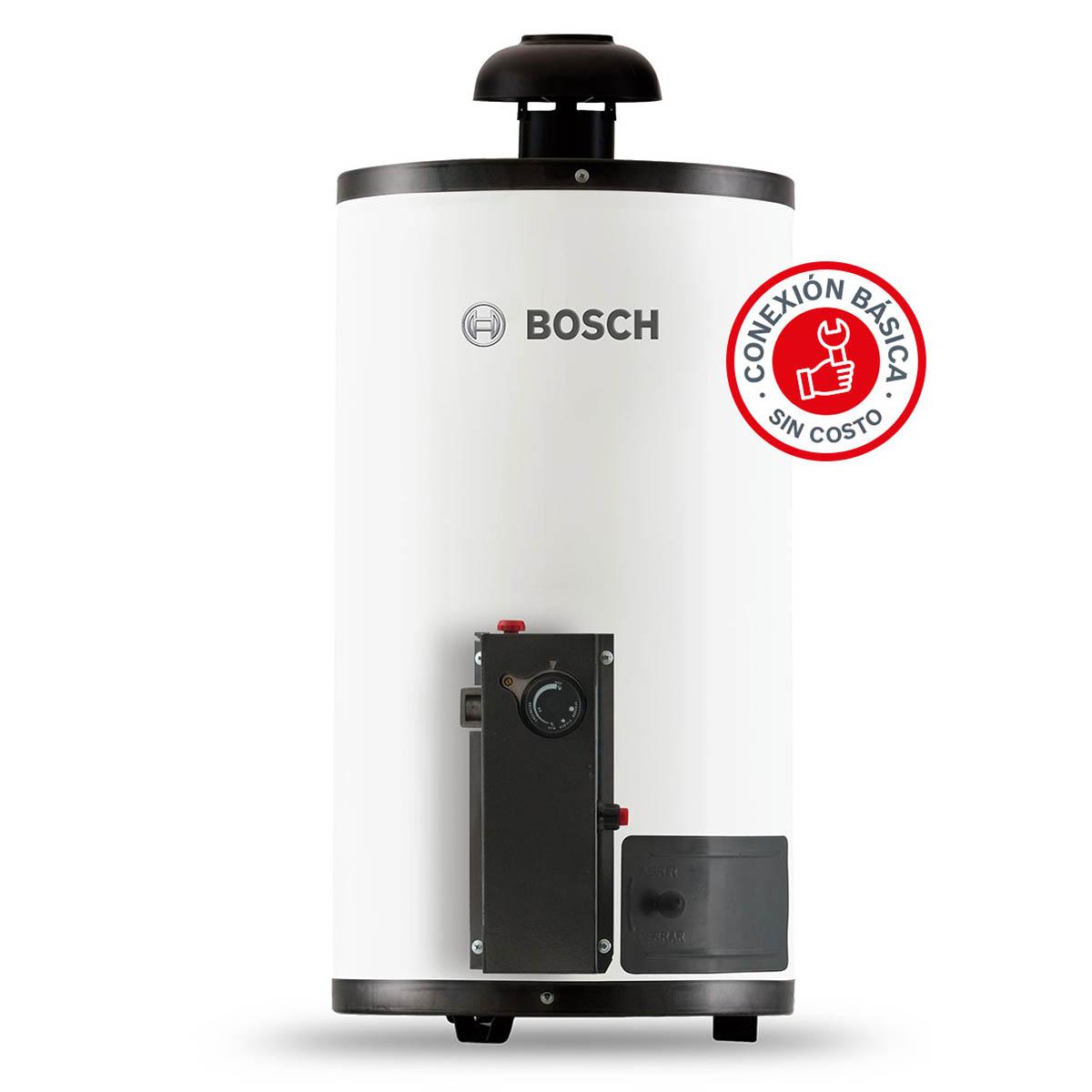 Calentador Boiler Deposito 1 servicio Gas LP 40Litros Bosch