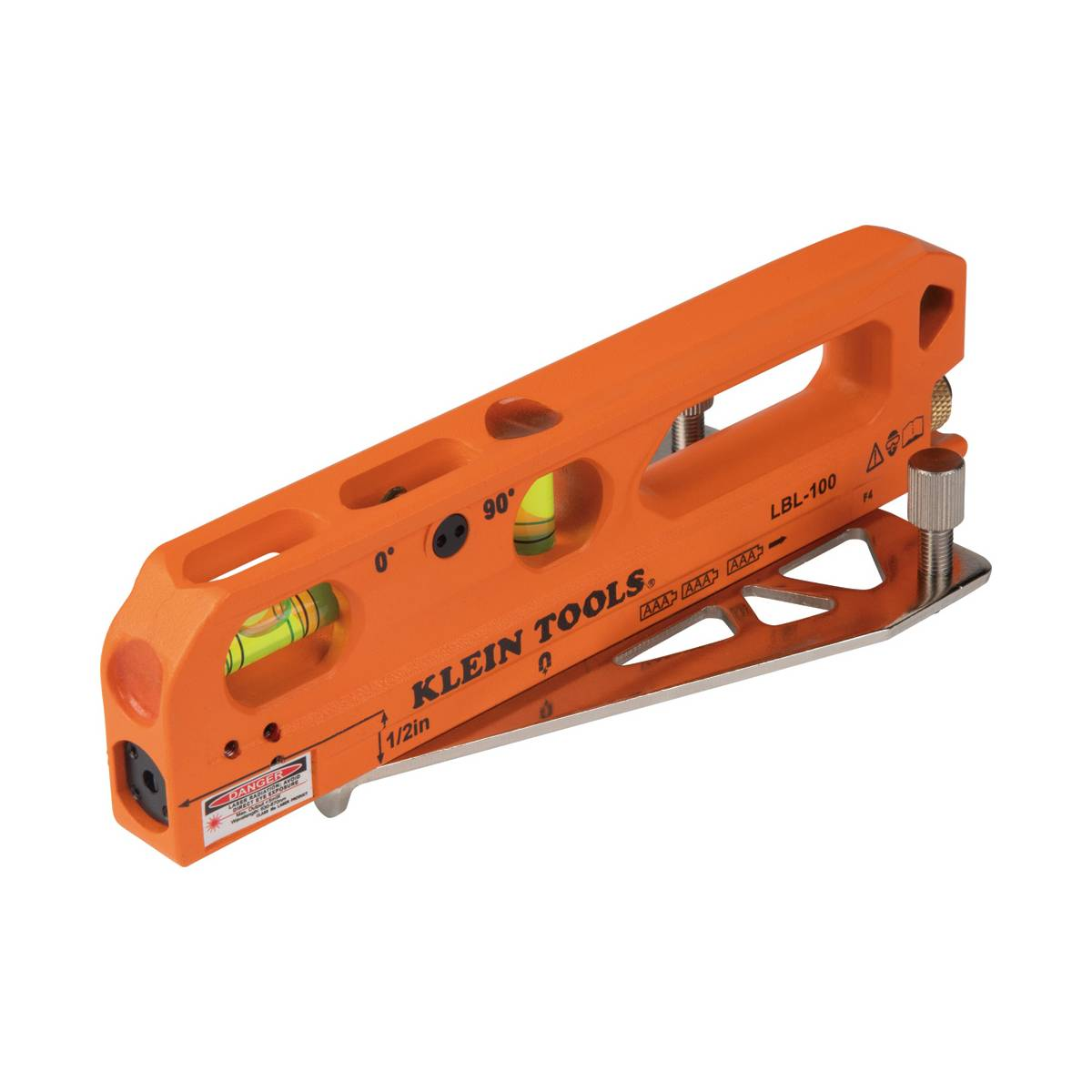 Nivel Iman Magnetico De Burbuja con Linea Laser Klein Tools