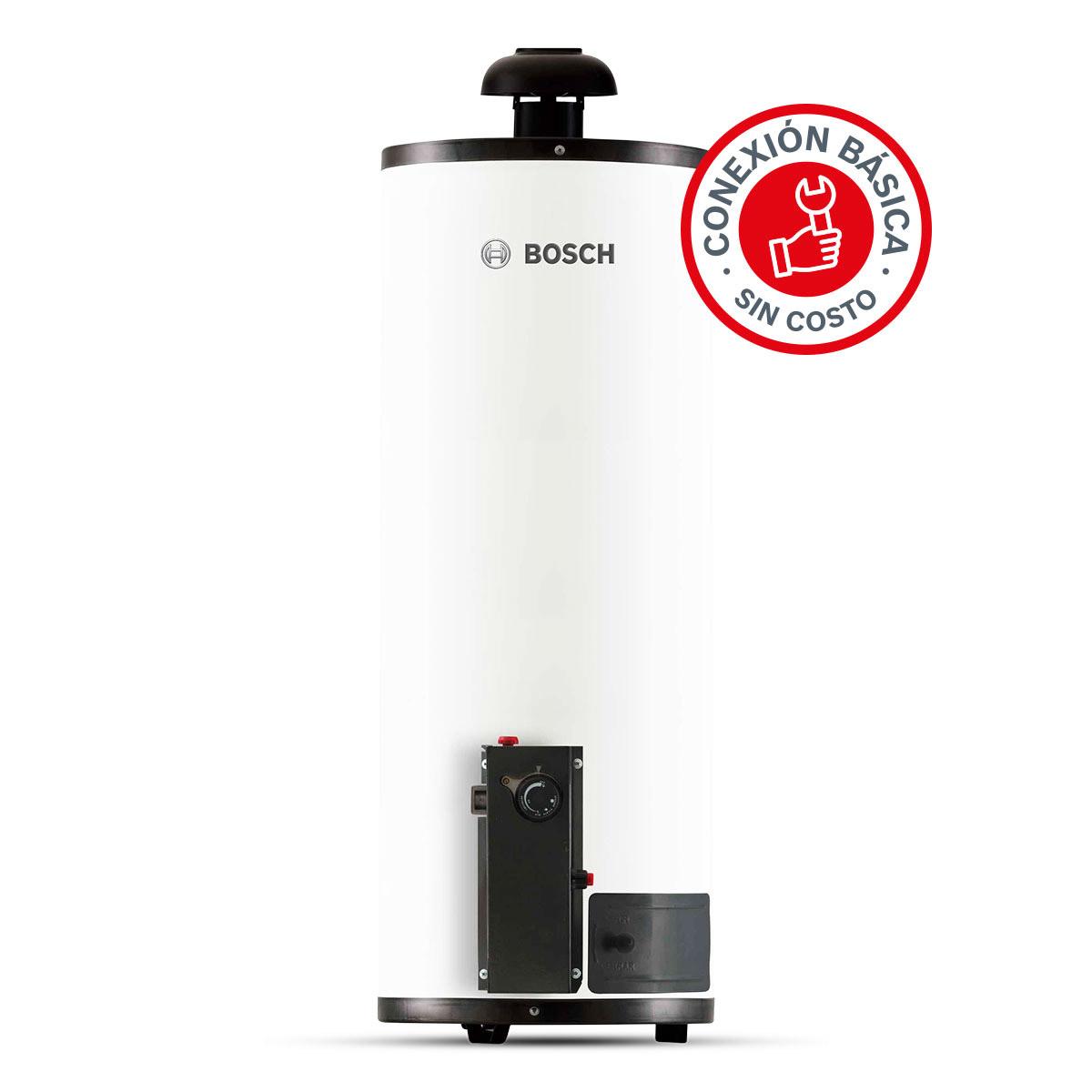Calentador Boiler Deposito 2 Servicios Gas Natural 80L Bosch