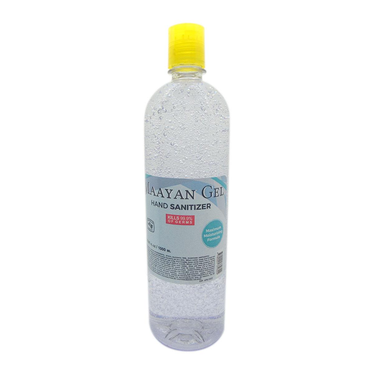 Gel Antibacterial Desinfectante Para Manos 1 Lt 70% Alcohol