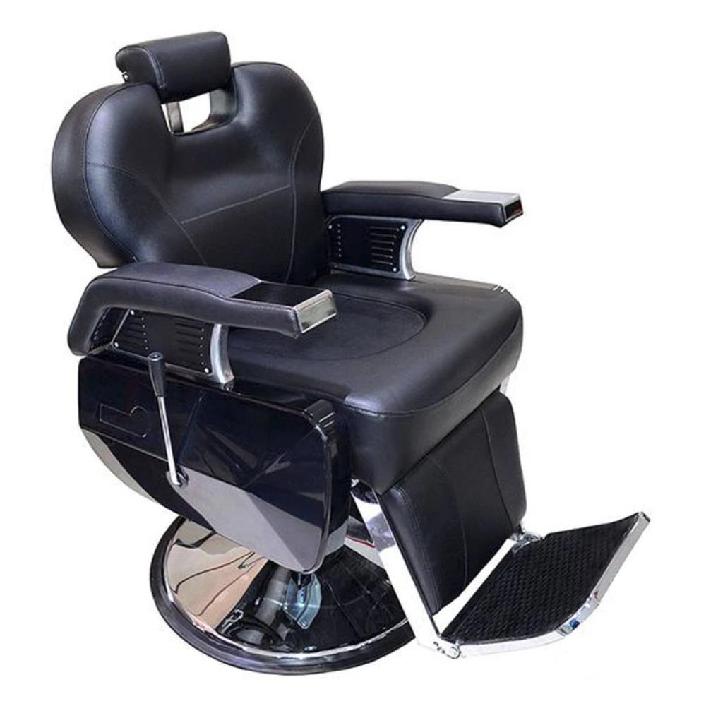 Silla Barbero / Peluquero Ajustable Negro BM88001 Lobo