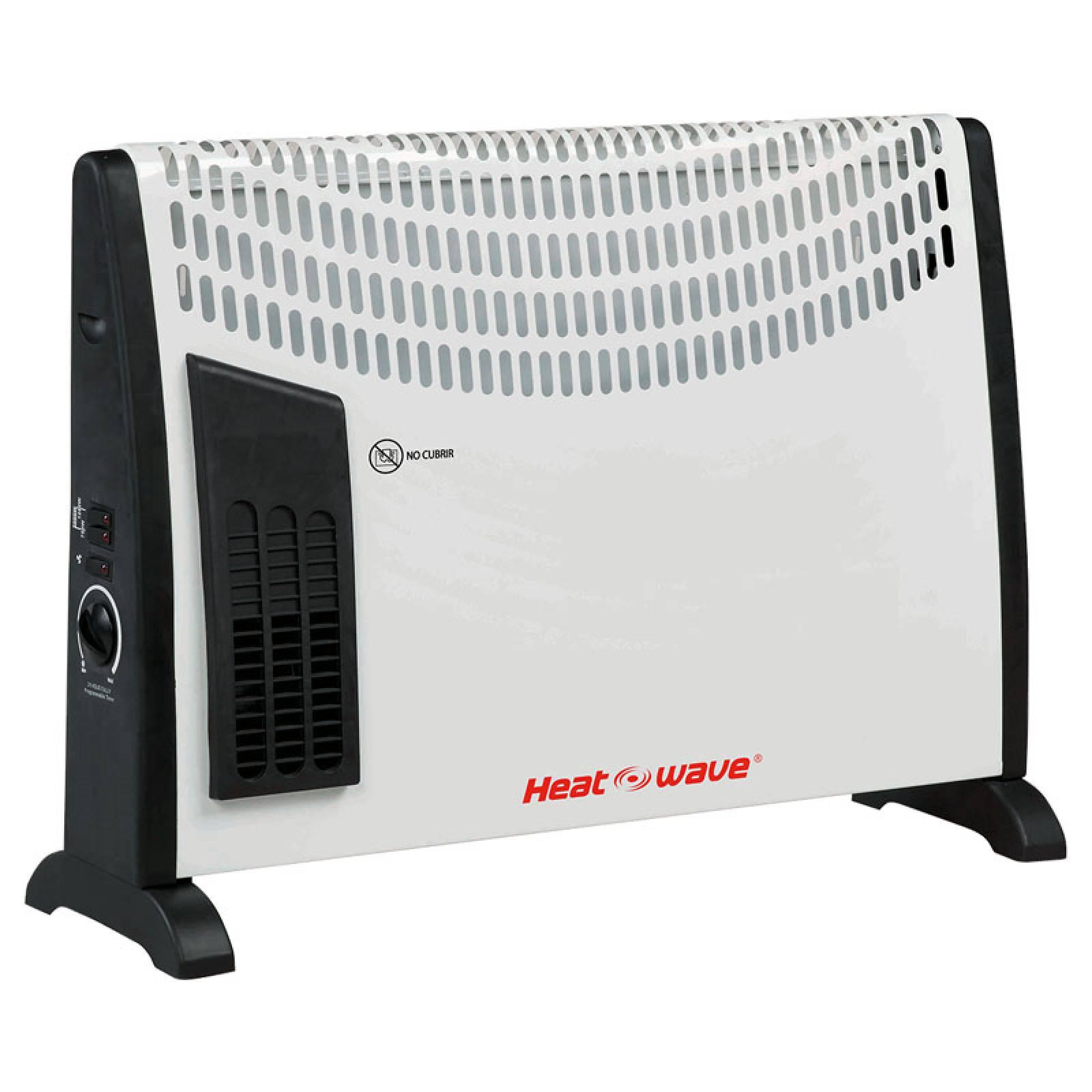Calefactor Electrico Conveccion 1500 w Turbo Heat Wave
