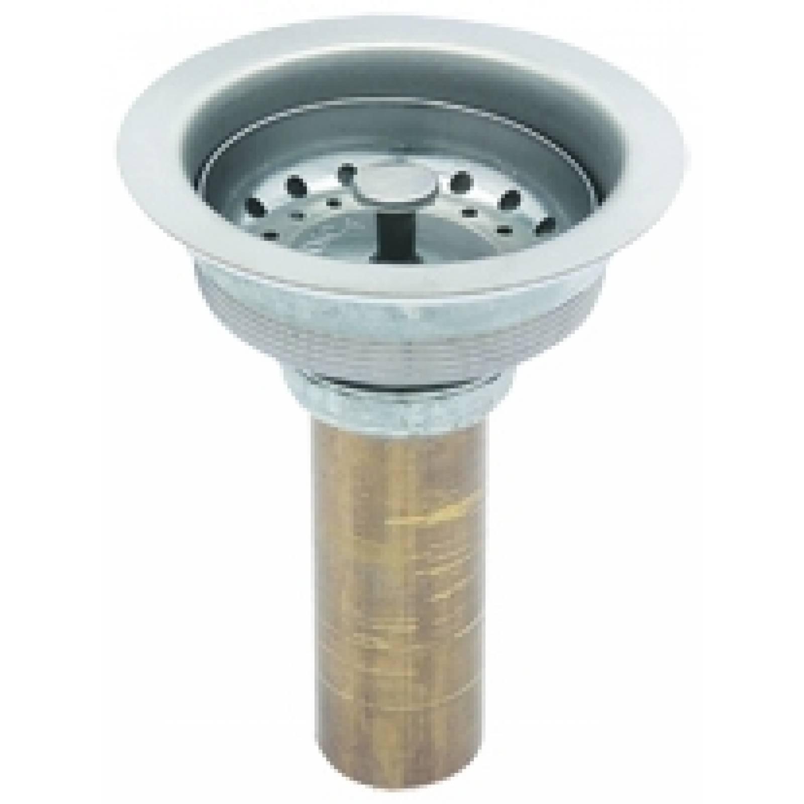 Contra canasta latón para fregadero tubo latón 3813M DICA