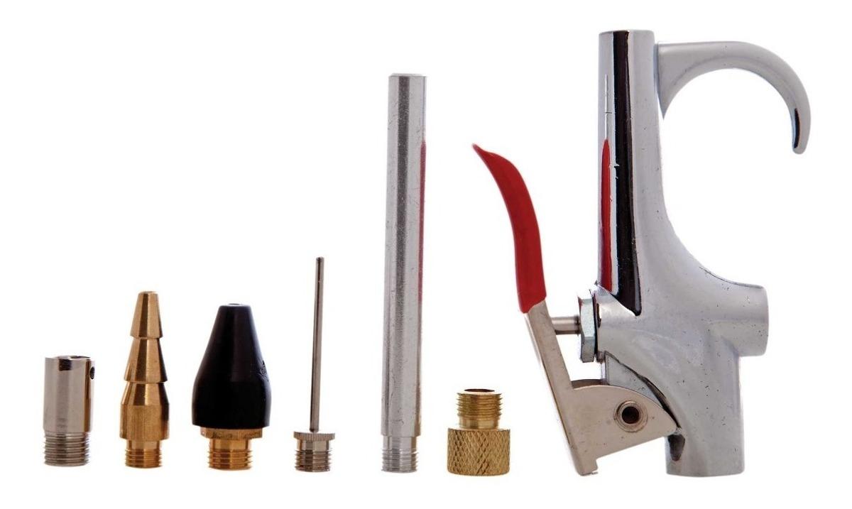 Juego De Pistola Sopleteadora Con 6 Boquillas 41013 Goni