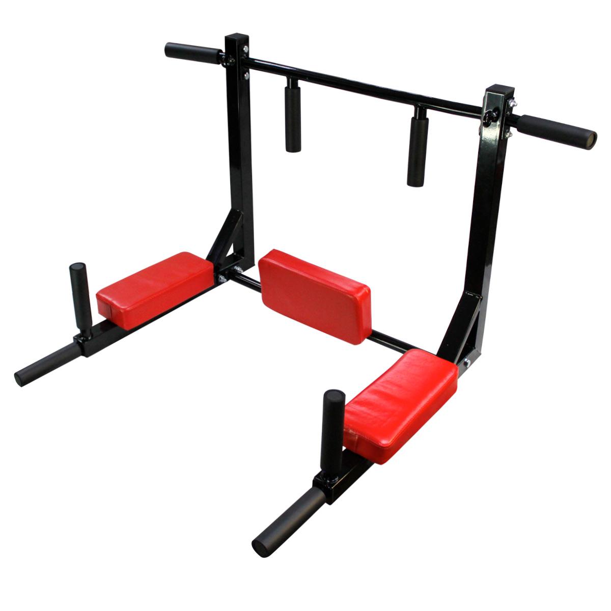 Barra Dominadas 8en1 Abdomen Fondos Uso Rudo 400Kg Multi Gym