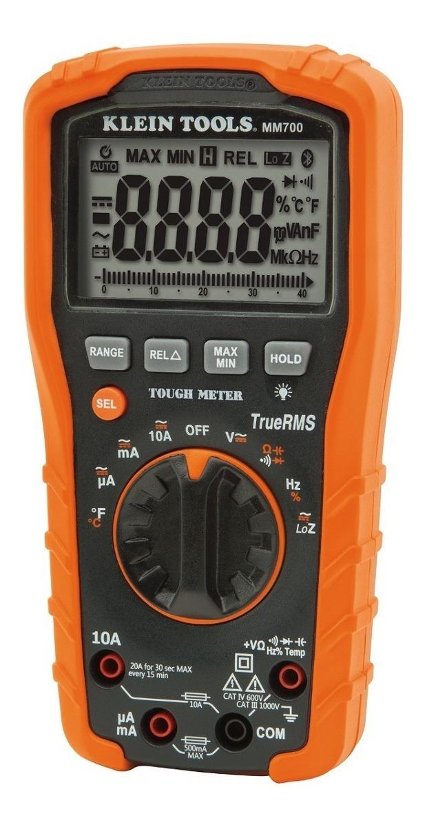 Multímetro Digital 1000v+autorango+termopar Mm700