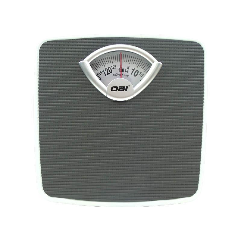 Bascula Personal Analoga Antiderrapante 130/1 kg Colores OBI
