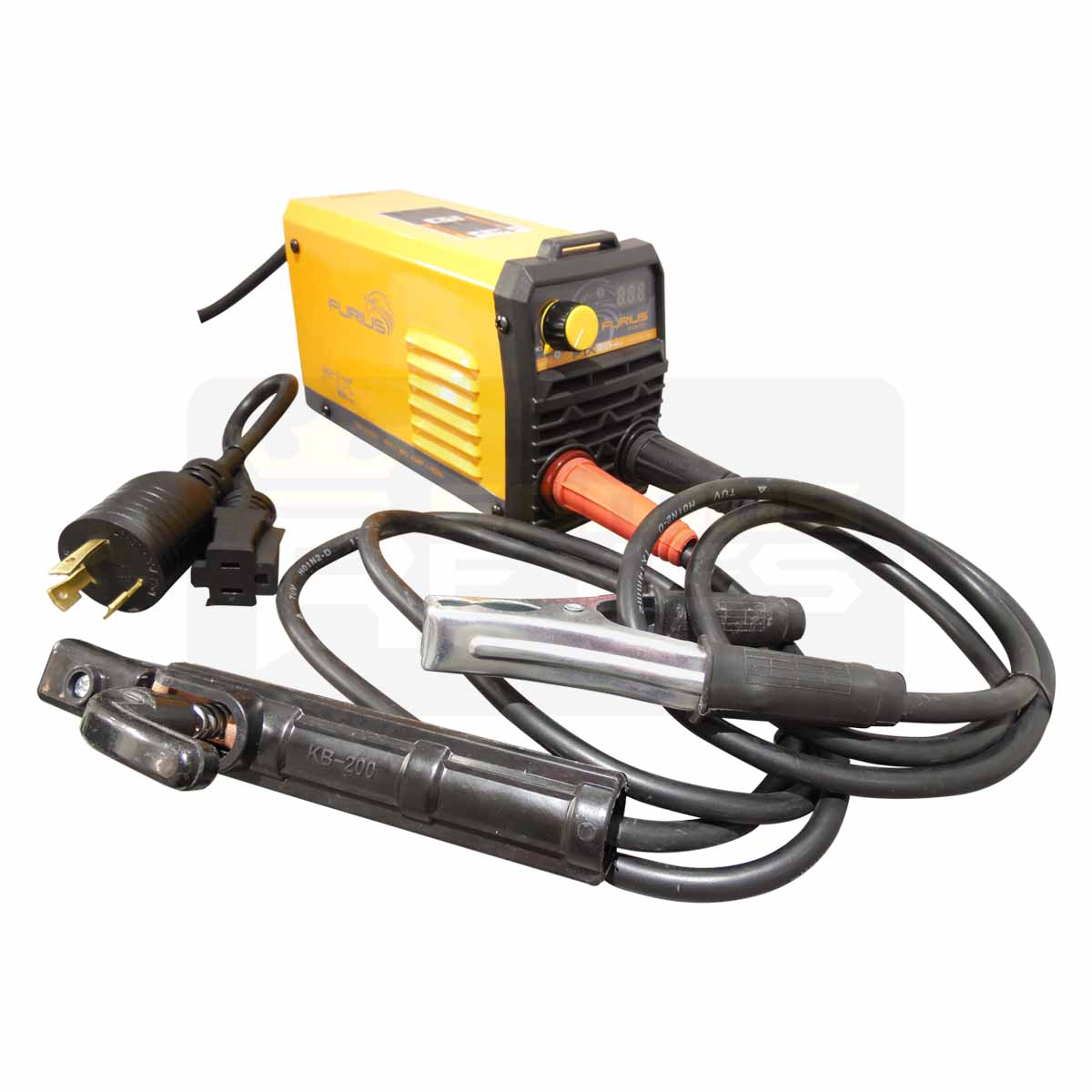 Mini Soldadora Inversora 110V/220v Fix 181 Ciclo 40% FW181M Furius