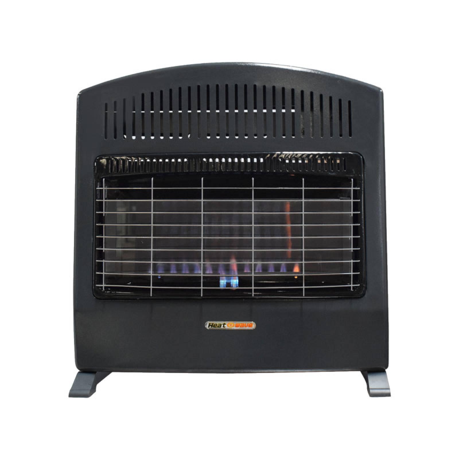 Calefactor Flama Azul 30,000 BTU Gas Nat HG90W-NAT Heat Wave