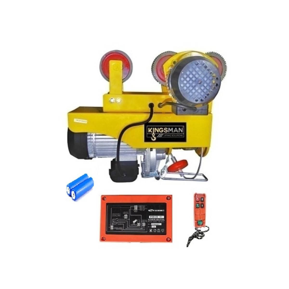 Trole Polipasto Electrico Inalambrico 600 A 990 kg Kingsman