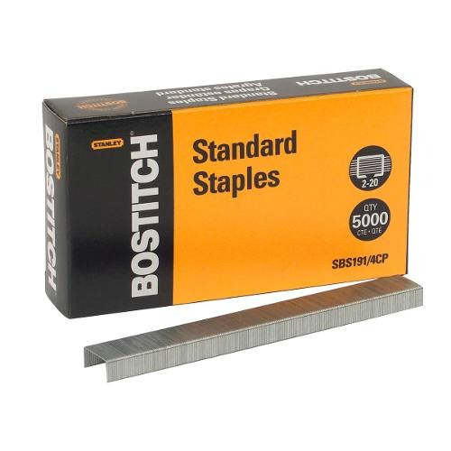 Grapa Standard Oficina Con 5000 Piezas Sbs191/4cp Bostitch