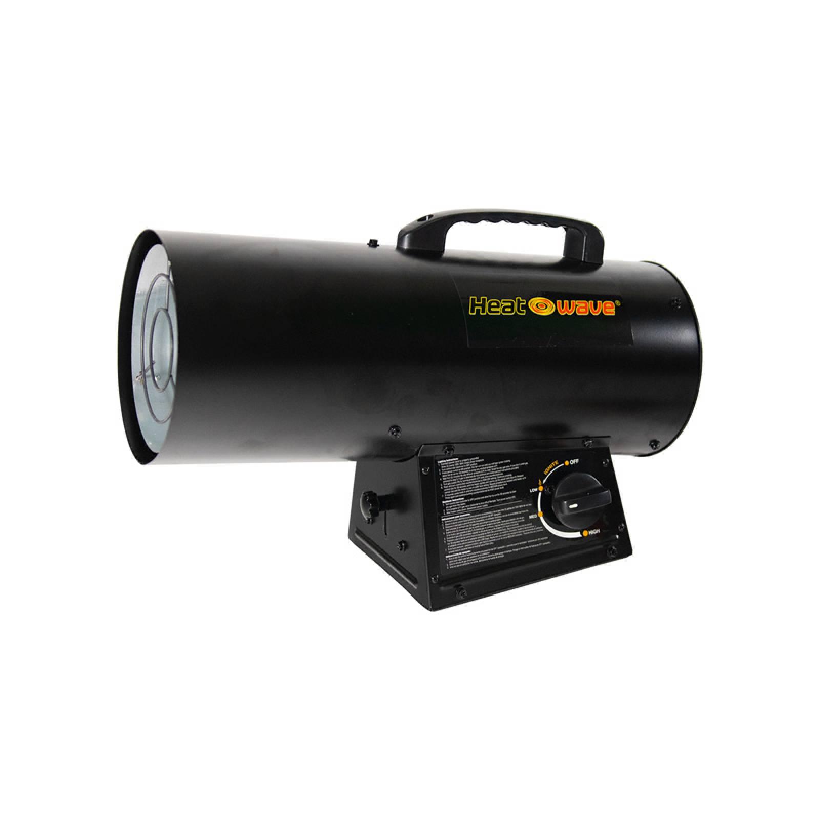Calefactor Cañon Uso Industrial Gas LP 60,000 BTU Heat Wave