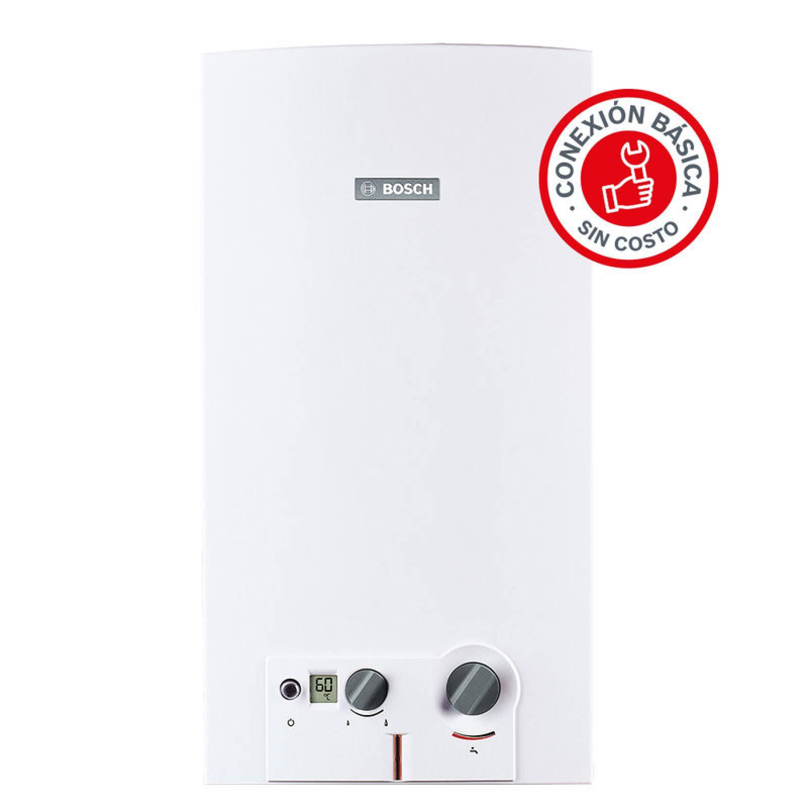 Calentador Instantaneo 3 Servicios Minimaxx 16 Gas Lp Bosch