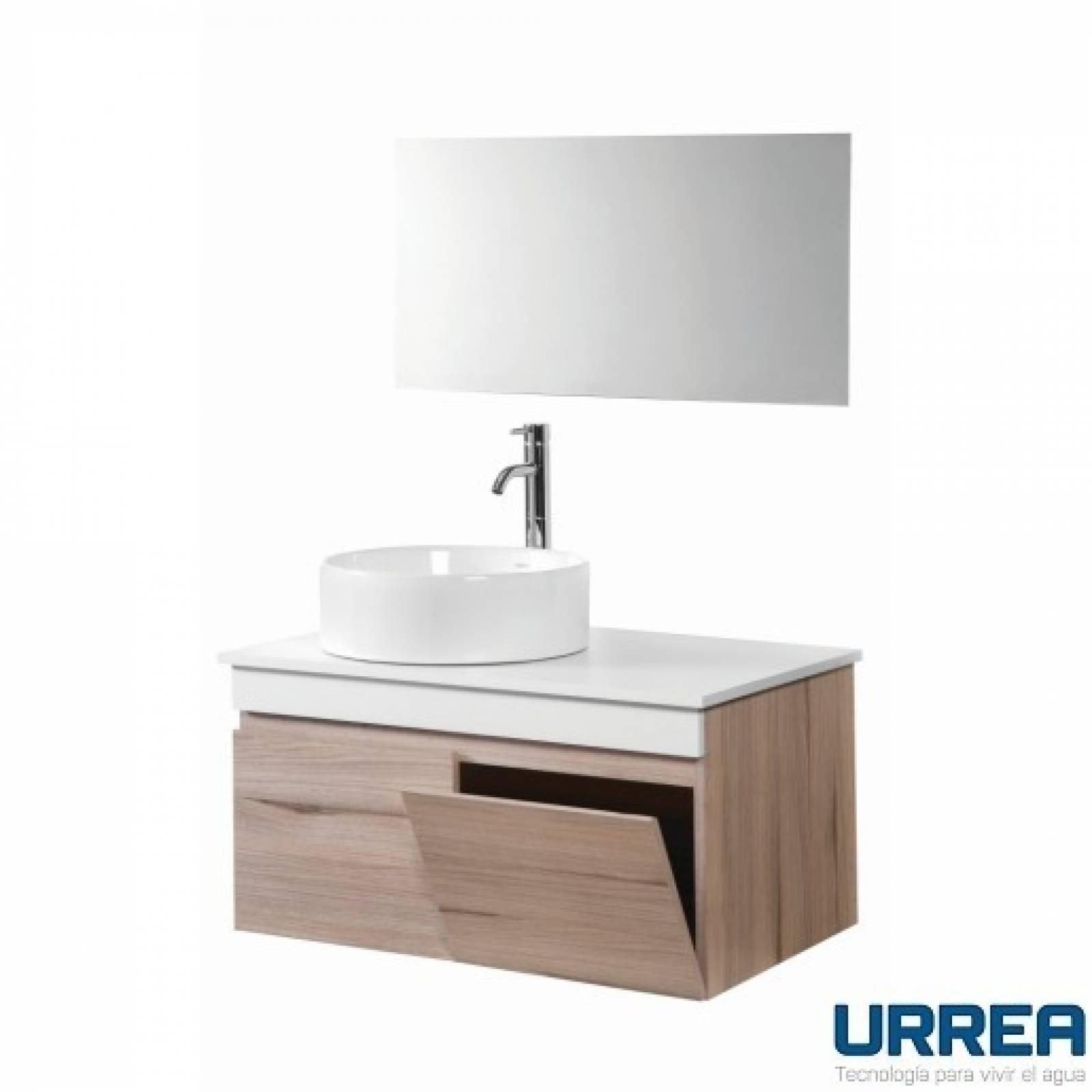 Gabinete suspendido Con Espejo para baño GB.911GB.35 URREA