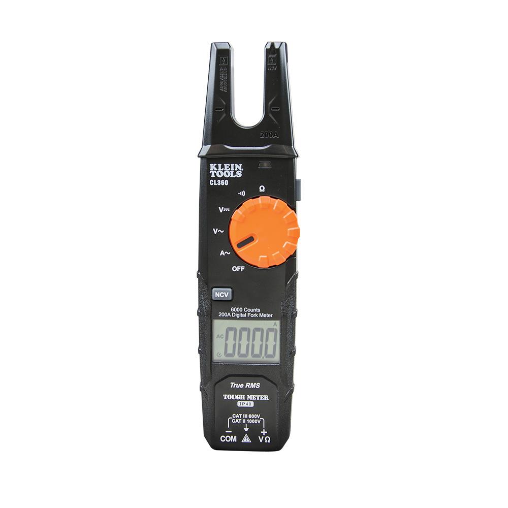 Multimetro Gancho Abierto 200a A/c Trms Cl360 Klein Tools