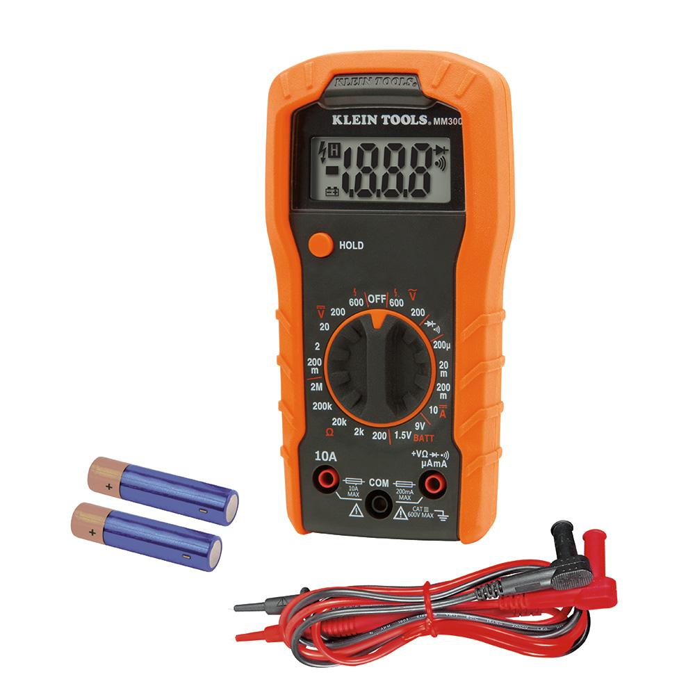 Multímetro Digital 600v Mm300 Klein Tools