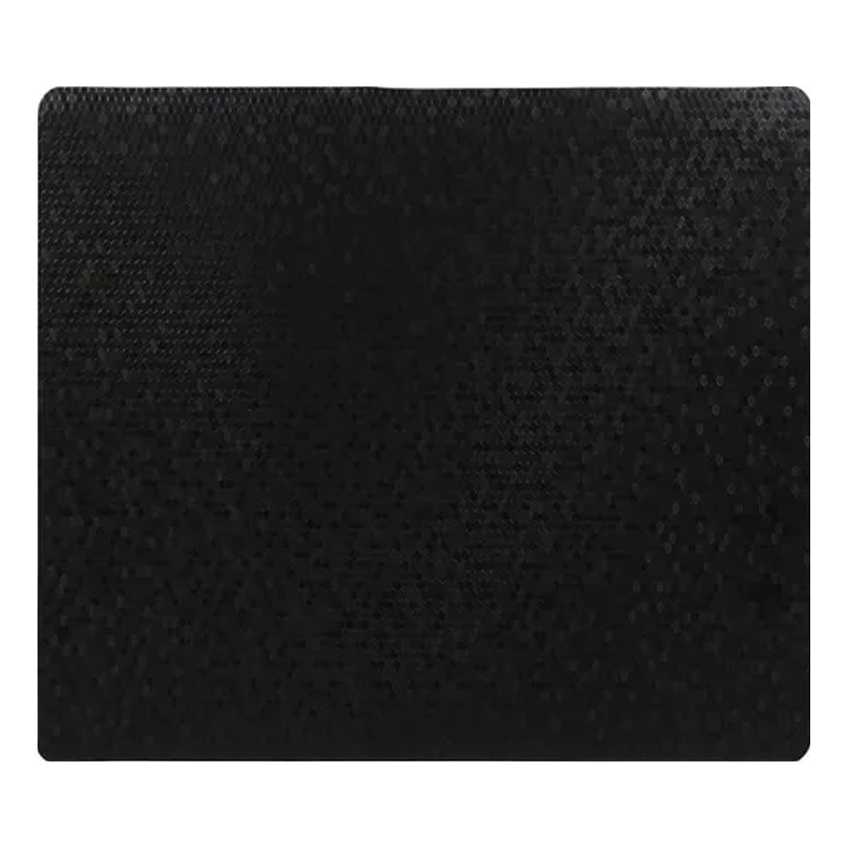 Mantel Individual De Mesa Tridimensional Negro Namaro Design
