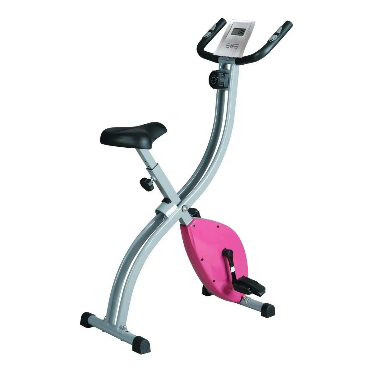 Bicicleta Vertical De Ejercicio Fija Magnetica Idea Fitness