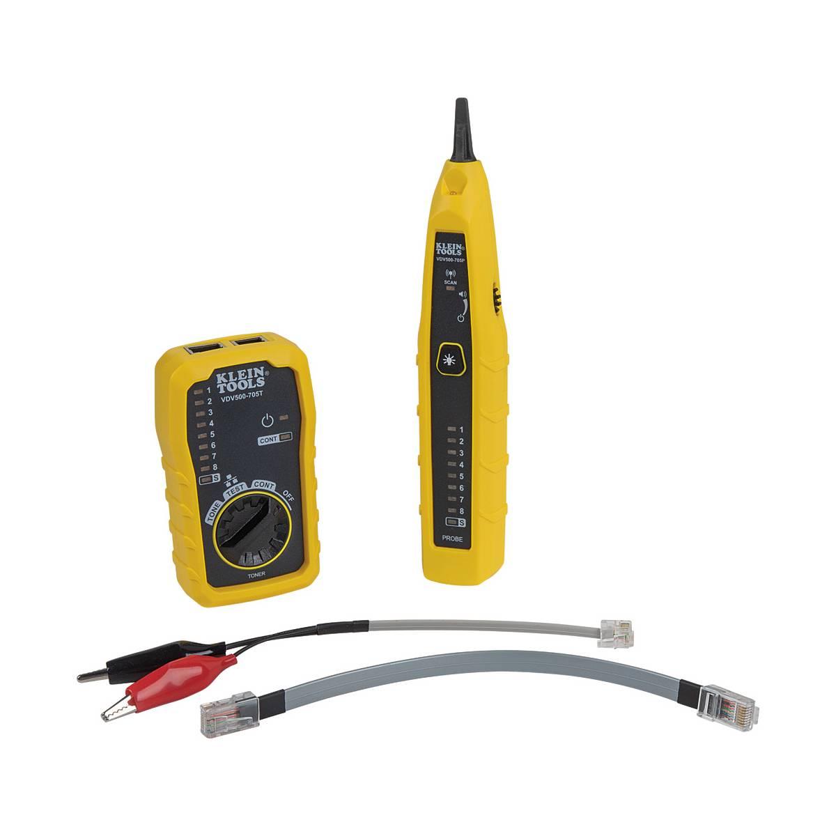 Kit Prueba Cable RJ45 Ruido Voz Datos VDV500-705 Klein Tools
