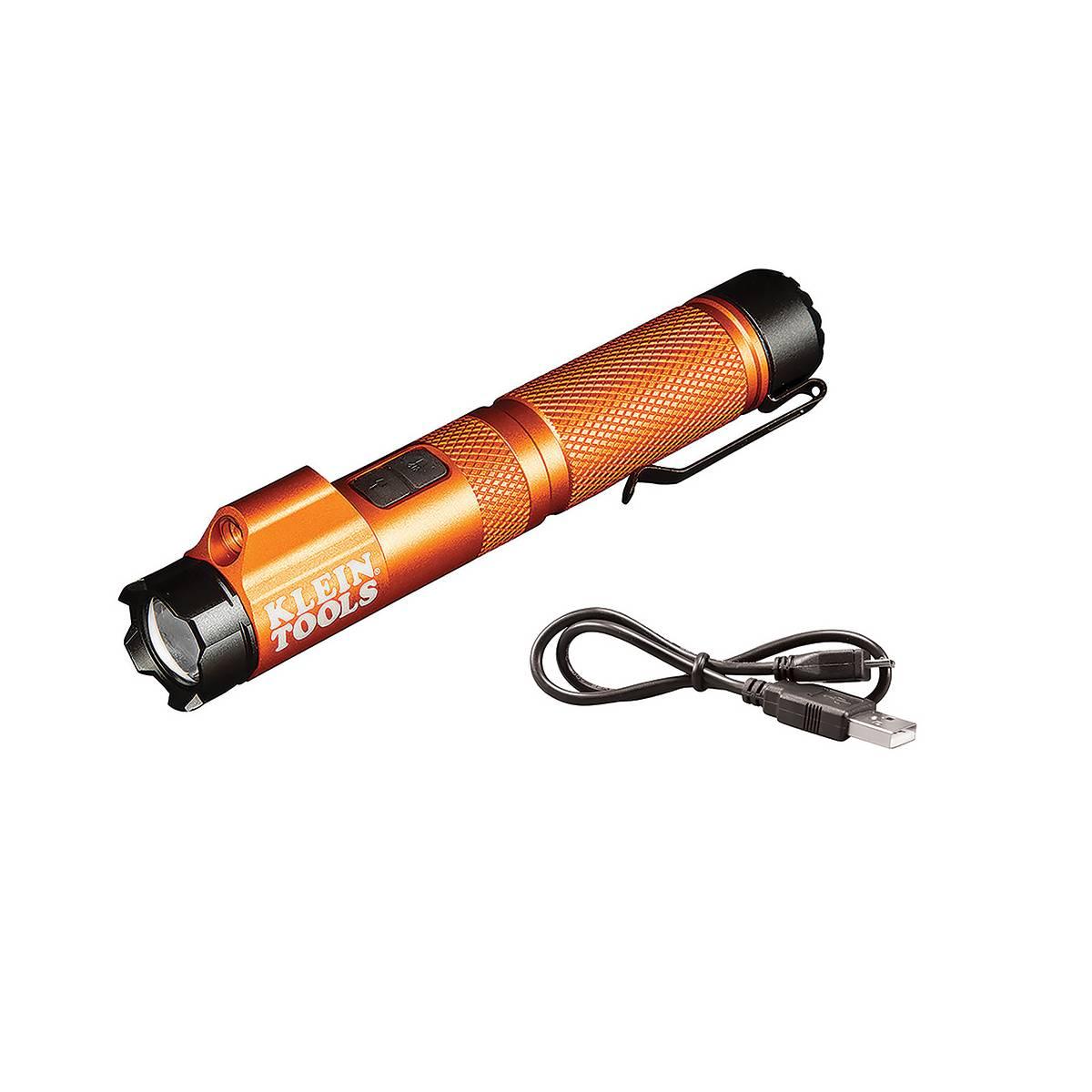 Linterna Lampara Laser Enfoque Recargable 56040 Klein Tools