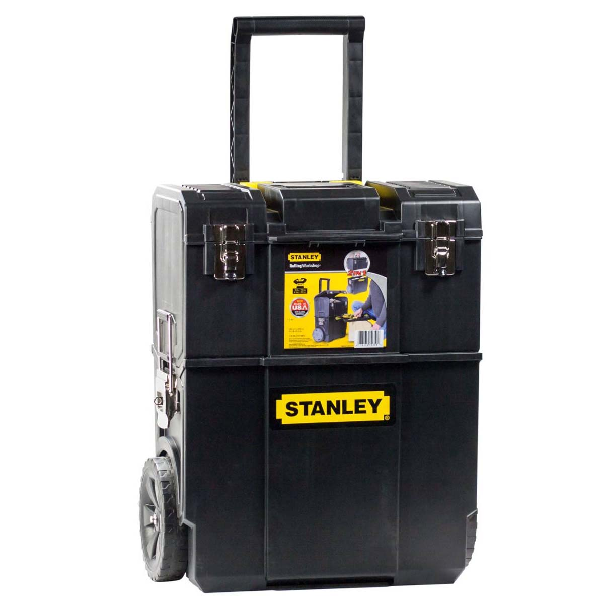 Caja Porta Herramientas Ruedas 2 En 1 STST18612W Stanley