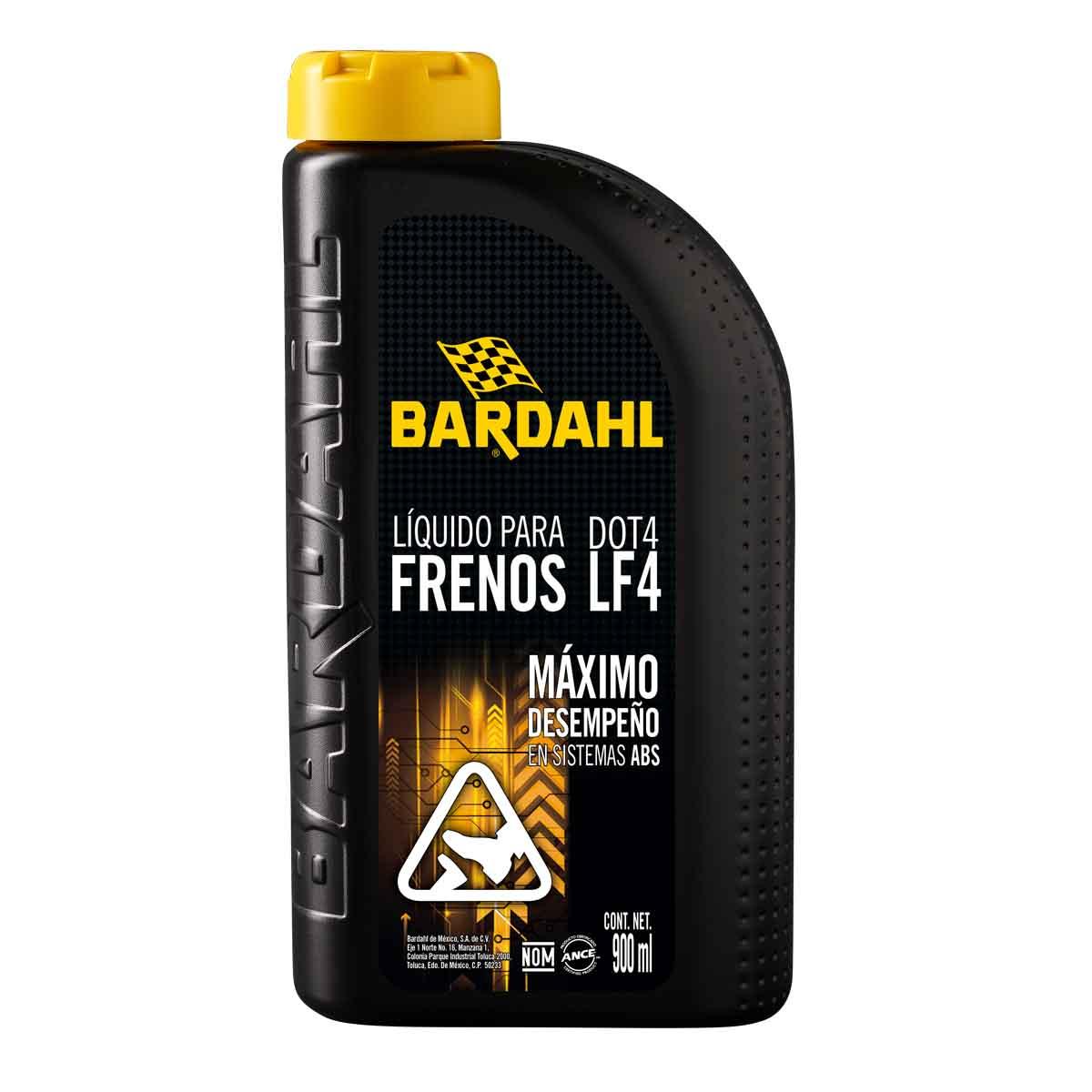 Líquido Para Frenos De Abs Disco Tambor 900 Ml Lf4 Bardahl