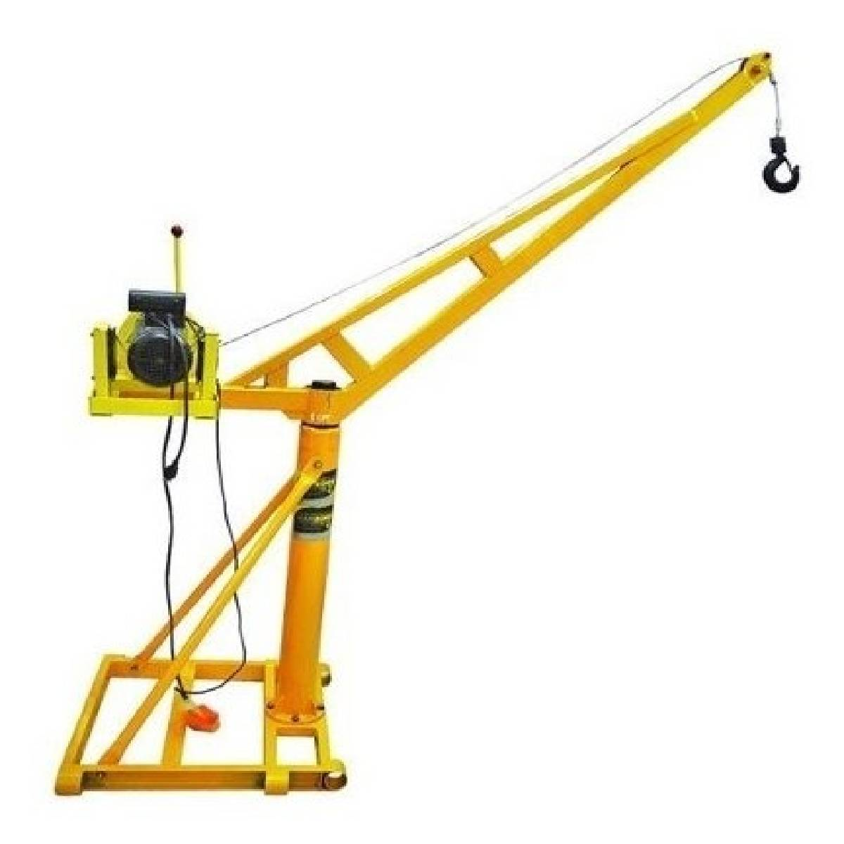 Polipasto Grua Portable 1000 Kg Con Cable 30 M 220v Kingsman