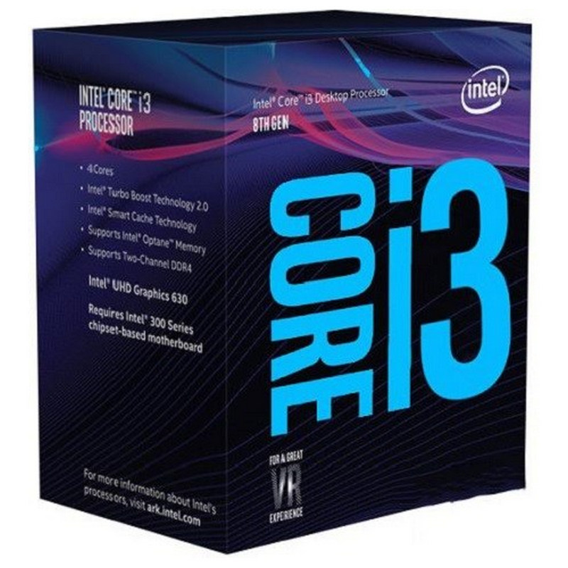 Procesador Intel Core i3 8350K