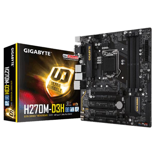 Motherboard Gigabyte H270m-D3h