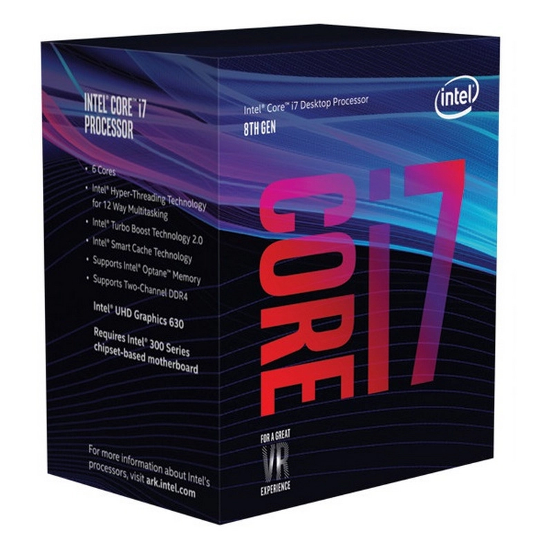Procesador Intel Core I7 8700