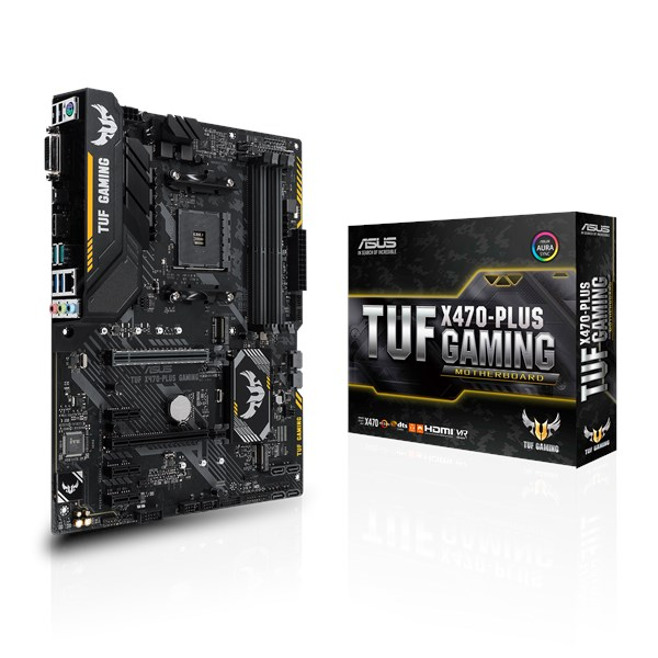 Motherboard Asus Tuf X470- Plus Gaming