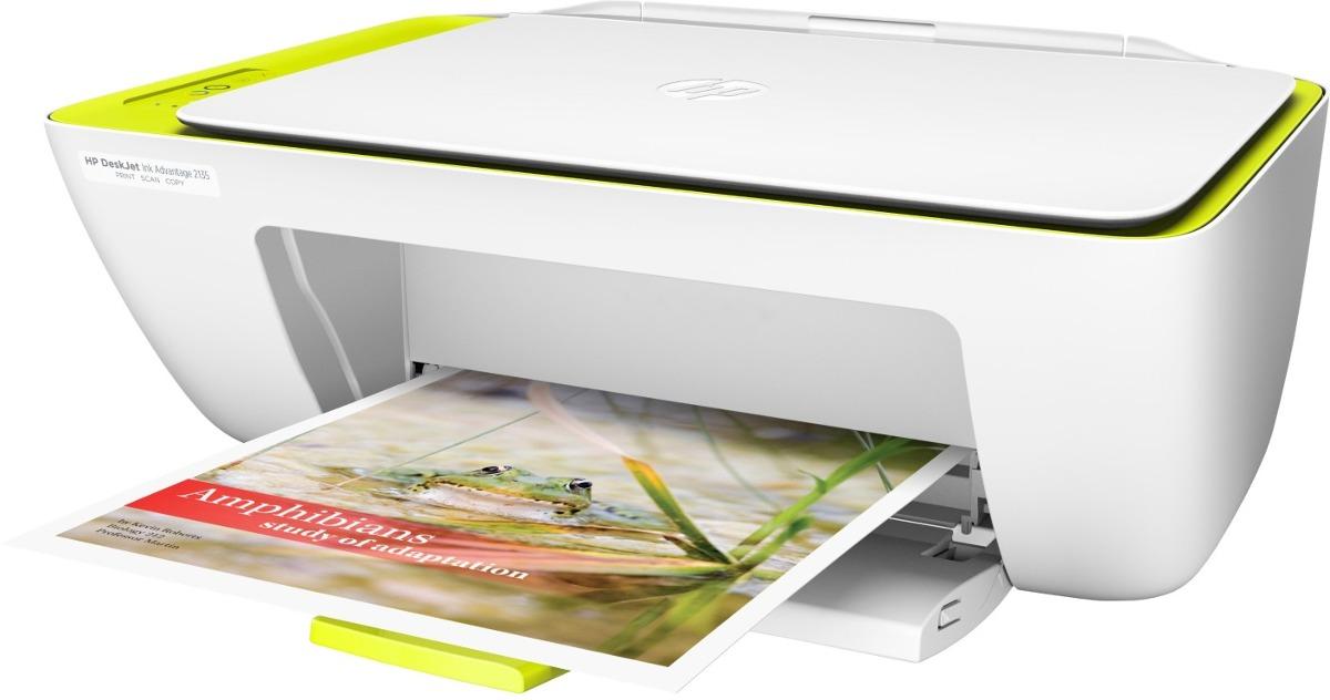 Impresora Multifuncional HP Desjet 2135