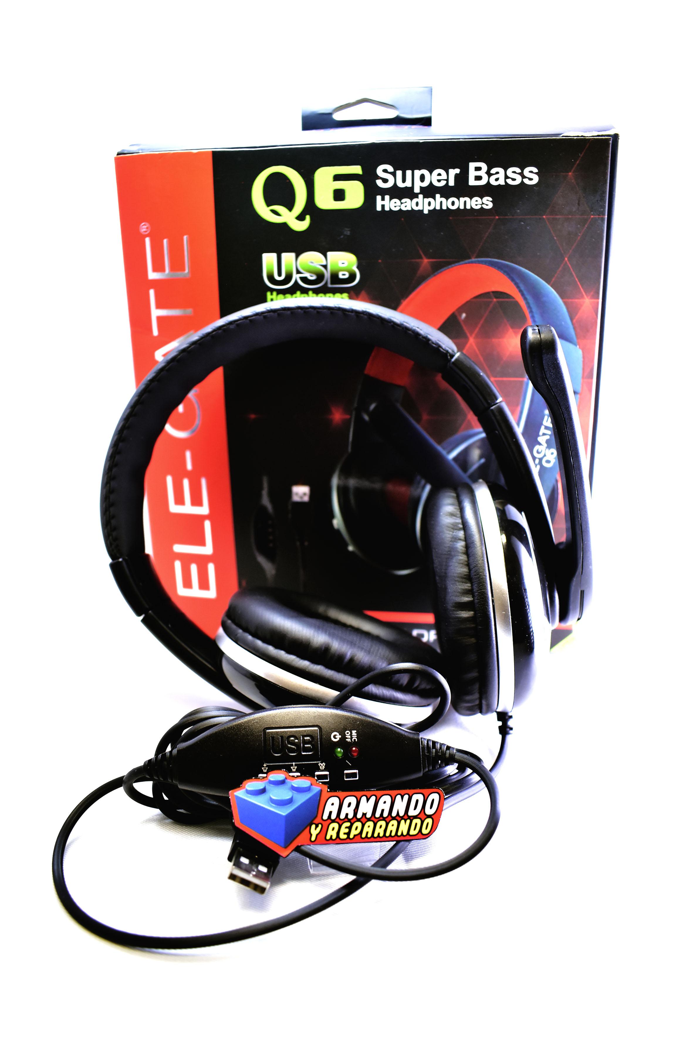 Diadema USB Para PC Con Microfono