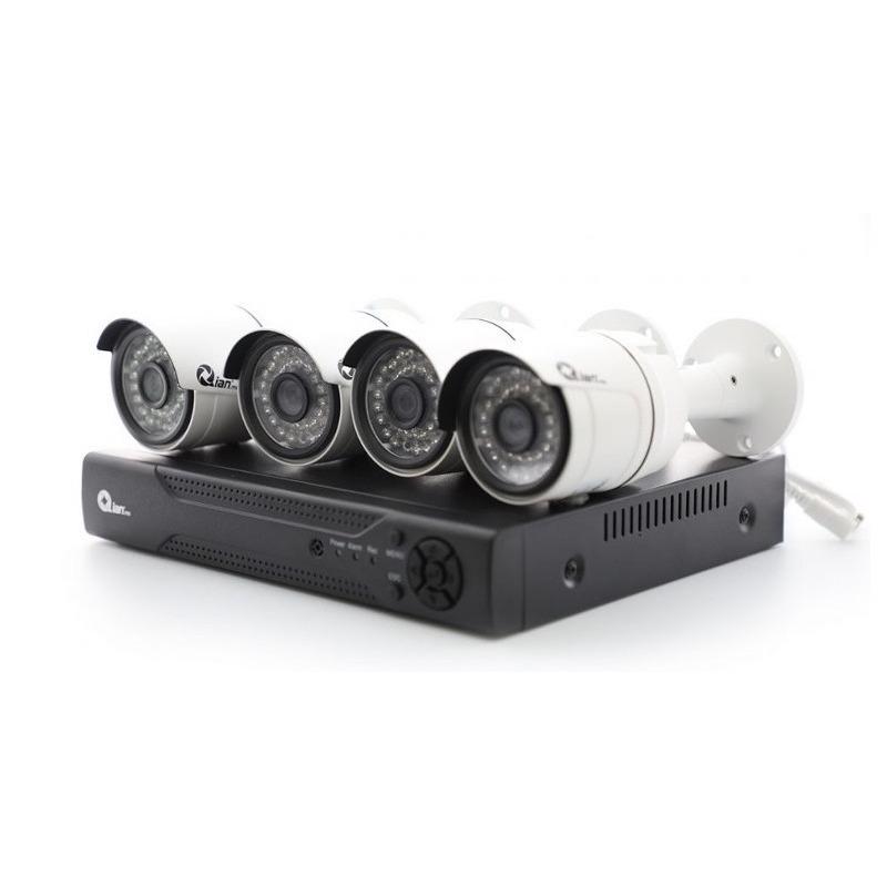 Paquete Videovigilancia DVR Con 4 Cámaras Y HDD 500 GB