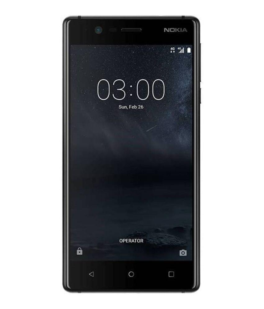 Celular Nokia 3 Negro