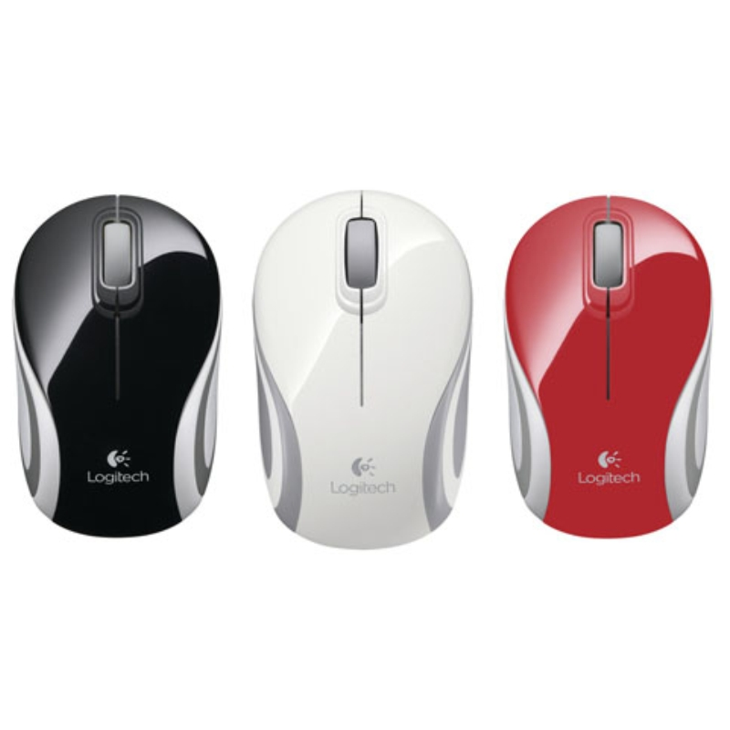 Mini mouse inalámbrico, mouse ultraportátil Logitech M187