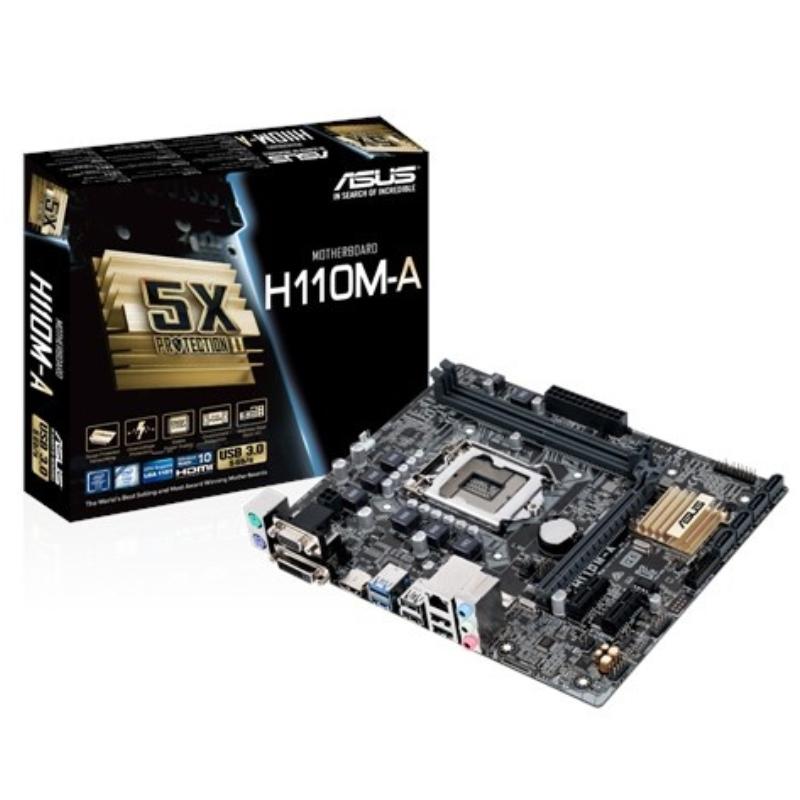 Tarjeta Madre ASUS micro ATX H110M-A, S-1151, Intel