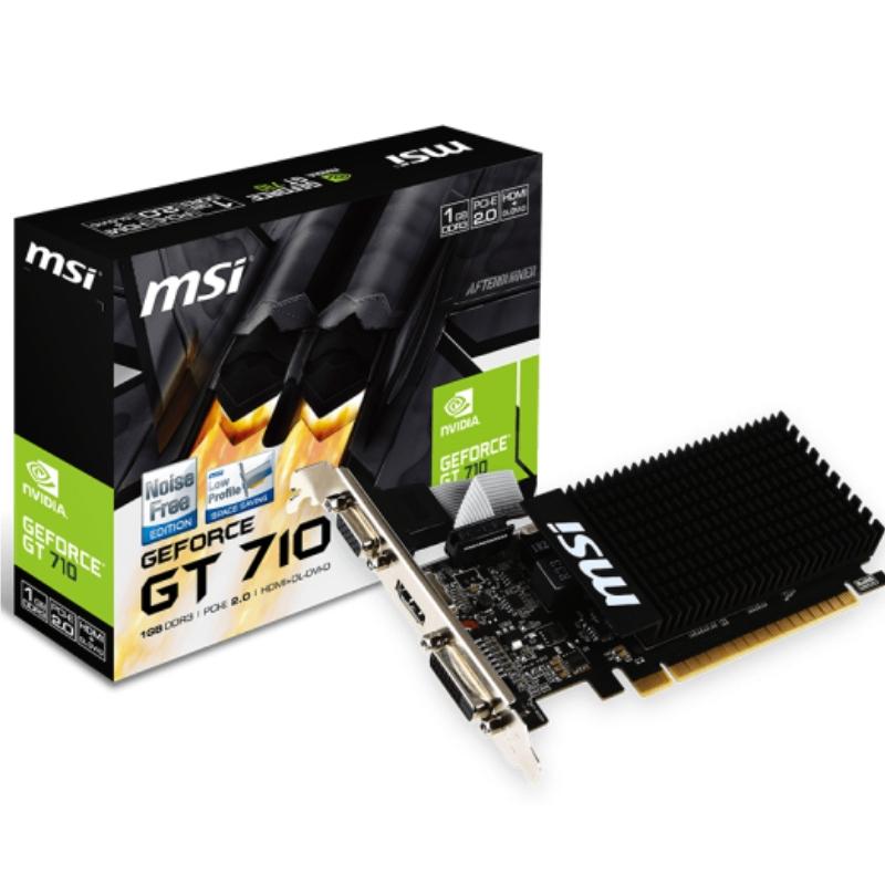 Tarjeta de Video MSI GeForce GT710 2GB DDR3