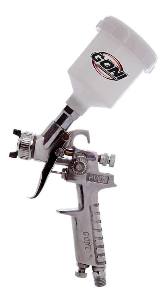 Pistola Mini De Gravedad Hvlp Vaso De 250cc 353 Goni