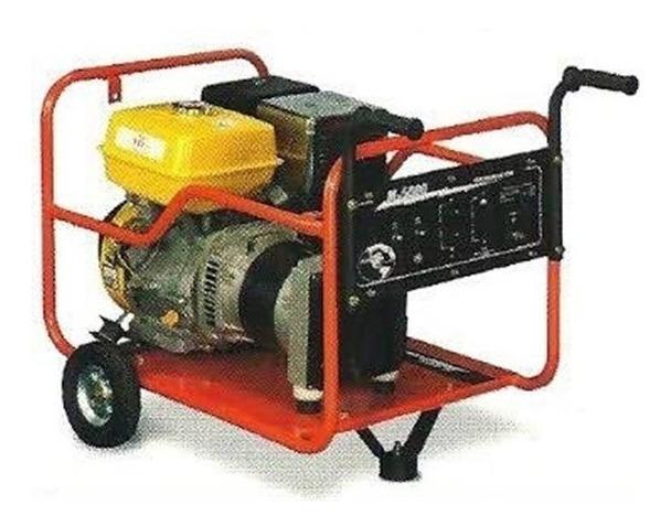 Generador 6,000 Watts Motor A Gasolina Planta De Luz Infra