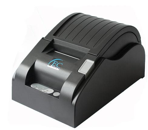 Impresora EC Line 5890X 90mm/s Térmica Usb, Negra