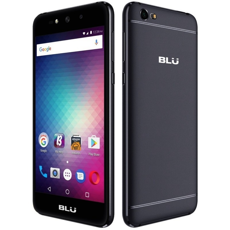 "N. Celular BLU Grand X HD 5.0"" QC 1.3 GHz 1/8GB 5MP Bat2200mAh 6.0 Negro"